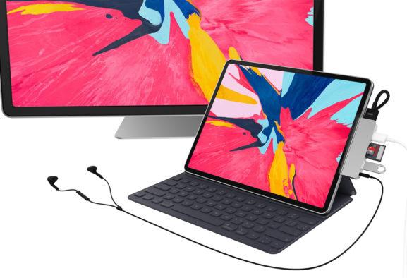 Hyper introduceert eerste USB-C-hub voor nieuwe iPad Pro