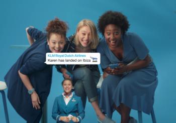 KLM stuurt groepsberichten WhatsApp aan familie reizigers