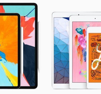 Apple kondigt nieuwe iPads aan
