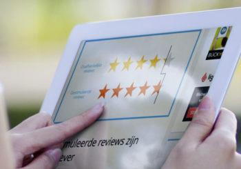 'Sjoemelen met reviews op internet fluitje van een cent'
