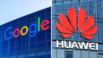 'Google beperkt toegang tot Android voor Huawei'