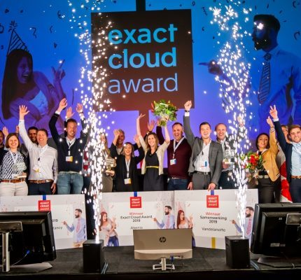 Aternio wint Exact Cloud Award