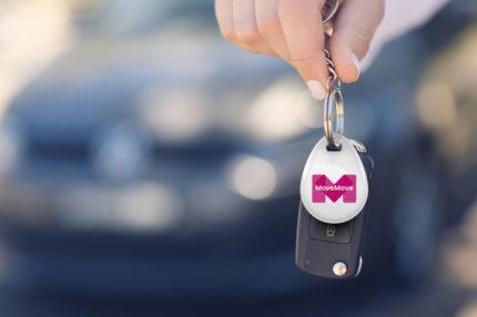 Introductie MoveMove-laadsleutel impuls voor zakelijk elektrisch rijden