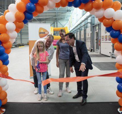Nieuw PostNL pakkettensorteercentrum in Dordrecht