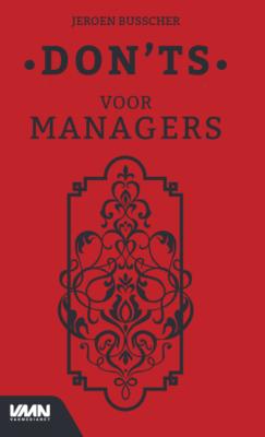BOEK : Don'ts voor managers