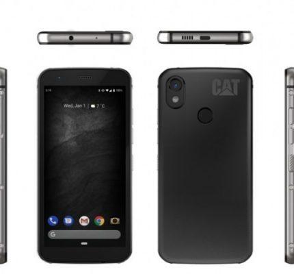 Cat® Phones introduceert de Cat S52: Een exceptioneel slanke 'rugged' smartphone