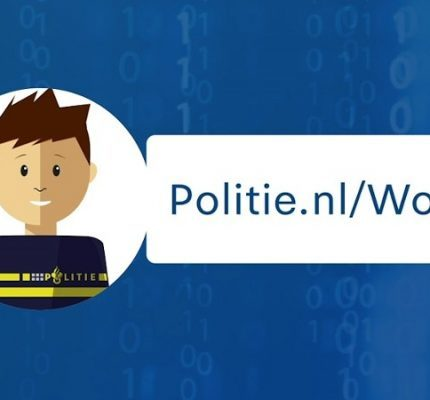 Cybercrime melden aan virtuele agent Wout