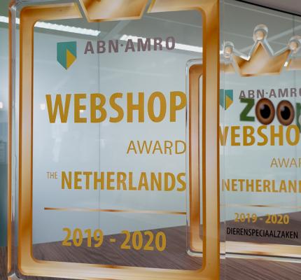 zooplus.nl tot beste webshop van Nederland gekozen