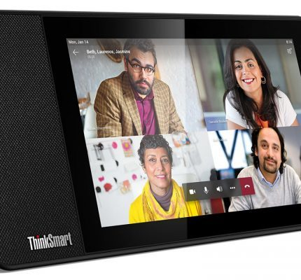 CES: Lenovo's ThinkSmart View bedoeld voor Microsoft Teams