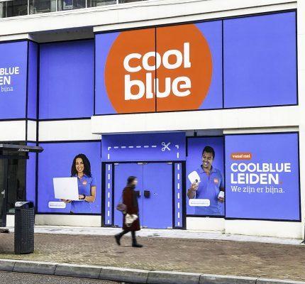 Coolblue opent winkel in hartje Leiden