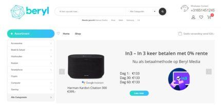 Nieuwe webshop in witgoed en elektronica laat consumenten in termijnen betalen zonder rente