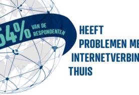 Thuiswerken door coronavirus: ruim helft Nederlanders heeft problemen met thuisnetwerk