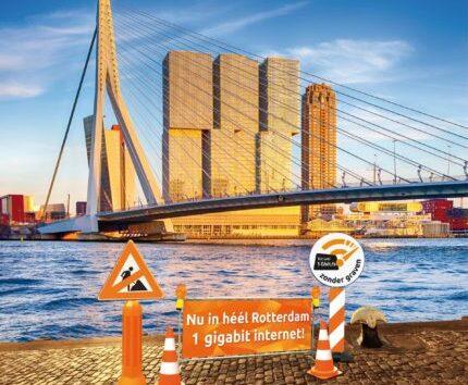 Ziggo gestart met 1 gigabit aansluitingen in Rotterdam