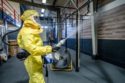 Ontsmettingsbedrijf ACI doet oproep om nieuw ontsmettingsconcept te testen