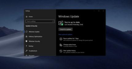 Microsoft schort Windows 10-stuurprogramma-updates tijdelijk op