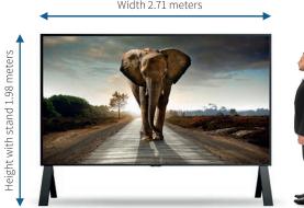 Sharp introduceert 's werelds grootste 8K-display