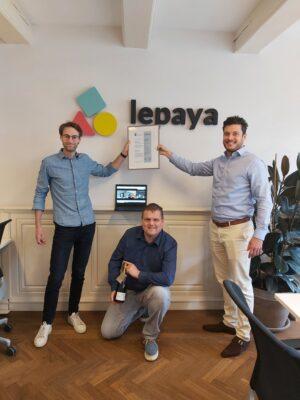Lepaya ontvangt ISO 27001 certificaat